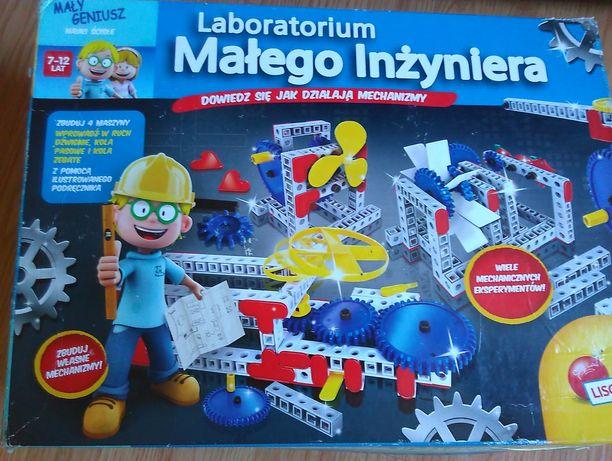 Laboratorium małego inżyniera geniusz zestaw klocki