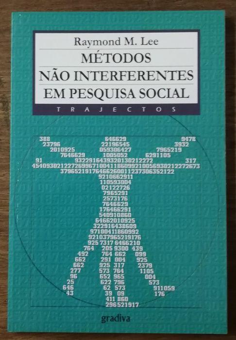 métodos não interferentes em pesquisa social, gradiva, raymond m. lee Estrela - imagem 1