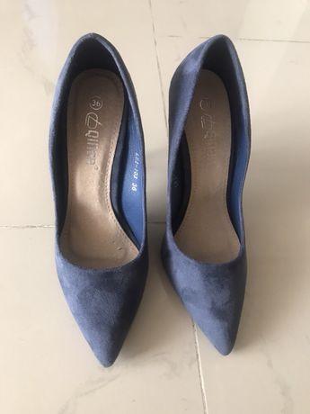 Шкіряні Туфлі замшеві