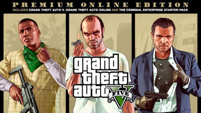 GTA V Premium Edition Pełna Wersja na PC + GTA Online