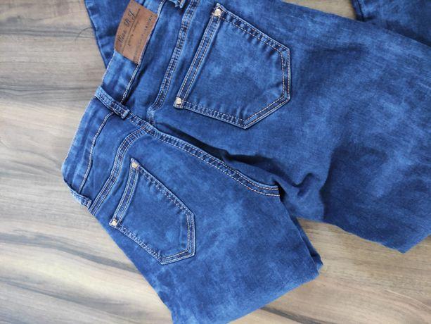 Sprzedam spodnie jeansy z zamkami