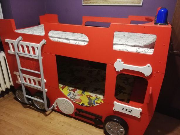 Sprzedam łóżko piętrowe wóz strażacki