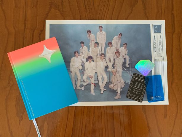 Vendo álbuns Kpop (Treasure)