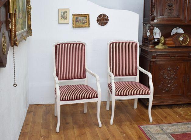 Dwa urocze fotele - krzesła - fotel krzesło 2 szt wysyłam