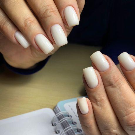 Маникюр ногти гель-лак наращивание гелем Гагарина