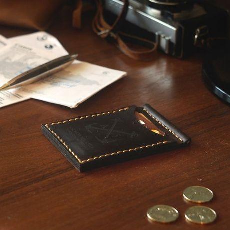 Зажим для денег / купюр AS - Компактный кошелёк + Подарок браслет