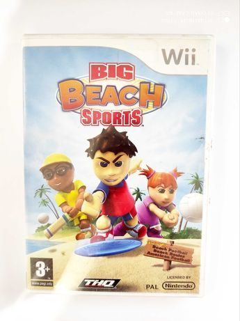 Big Beach Sports Nintendo Wii