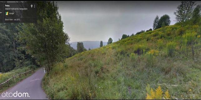Działka budowlana 21 ar, blisko lasu, dojazd drogą asfaltową