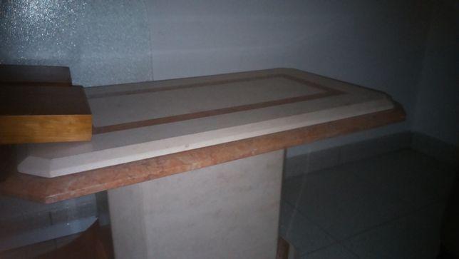 Mesa em pedra marmore