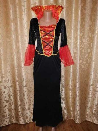 Красивое длинное платье на хеллоуин, halloween