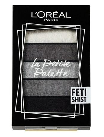LOREAL  La Petite Palette szare cienie grey eyeschadow