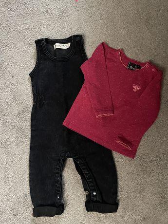 Spodnie i bluzka w rozmiarze 68