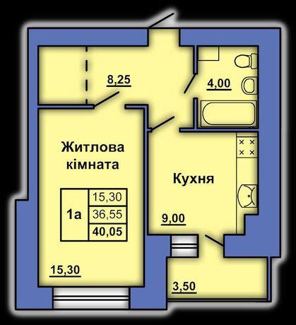 Продам 1к квартиру в новому будинку на Степного Фронту