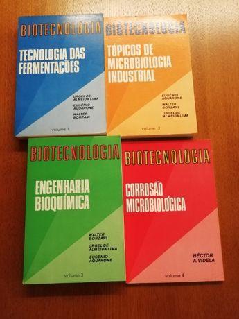Livros técnicos de Biotecnologia