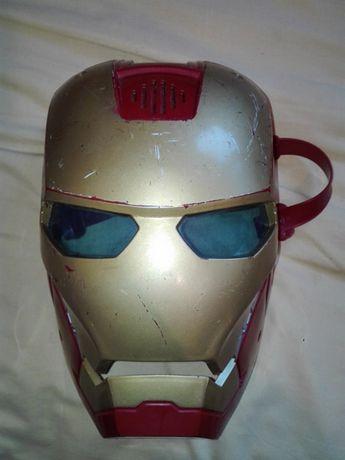 maska interaktywna iron man