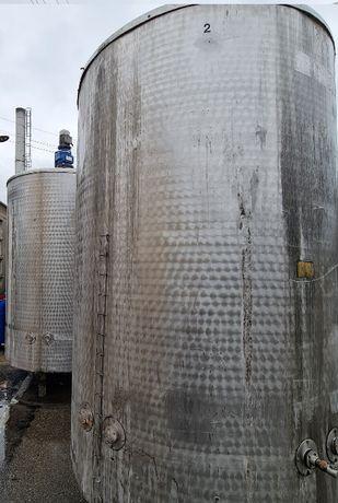 Zbiornik nierdzewny KO 3000L płaszcz grzewczy procesowy płaszczem