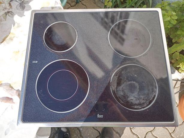 Placa vitro cerâmica de 4 bicos e forno elétrico do conjunto