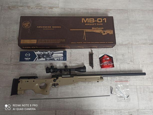 Replika karabinu snajperskiego MB-01 ASG
