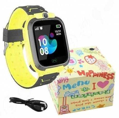 Подарок умные часы Детские ДЖПС камера 2МП защита от воды