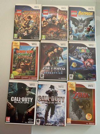 Jogos Wii (originais-como novos 1 dono) (em conjunto ou separado)