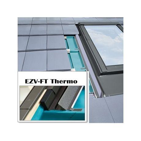 Fakro kolnierz EZV-FT thermo 07 78x140 dachowka płaska.