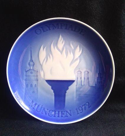 Сувенирная тарелка(Олимпиада 1972 г)