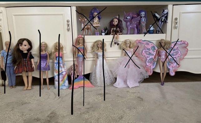 Куклы барби, Barbie, Единорог, кен, Sylvanian Families
