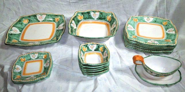 Parte Serviço Jantar Cerâmica Solimene Vietri 2