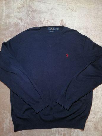 Ralph Lauren sweter cienki L XL
