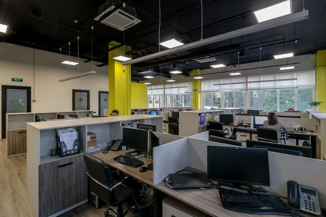 Бизнес центр класса В офис 550 м2 с мебелью!