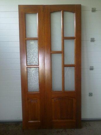 Дерев'яні двері під замовлення сосна