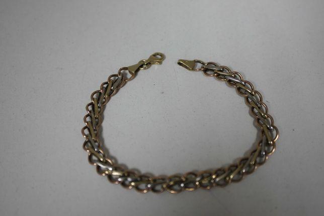 Złota bardzo ładna bransoletka Briju 14K