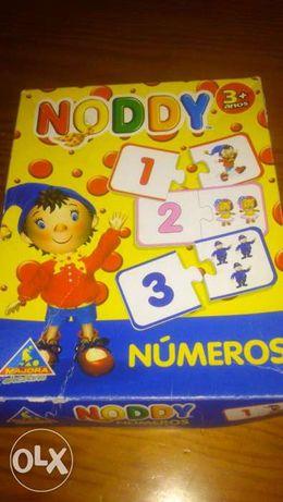 Jogo dos números do Noddy