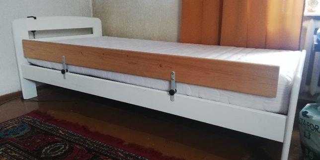 Łóżko ortopedyczne 90/200, stelaż regulowany pilotem