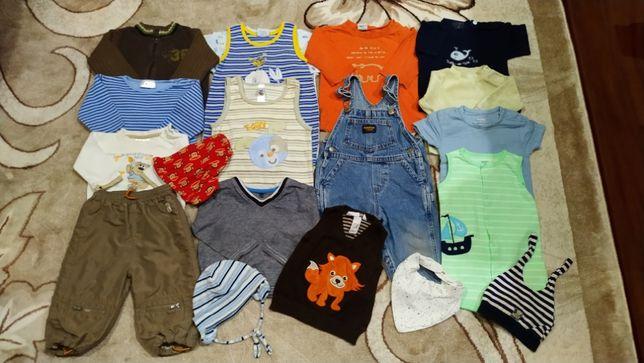 Речі для хлопчика 3-6, 6-9, 9-12 місяців