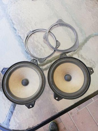 Zestaw głośników bmw e46 tył