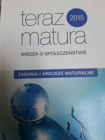 Teraz matura wiedza o społeczeństwie - zadania i arkusze maturaln 2015