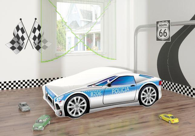Łóżeczko, łóżko dziecięce car samochód 180x80