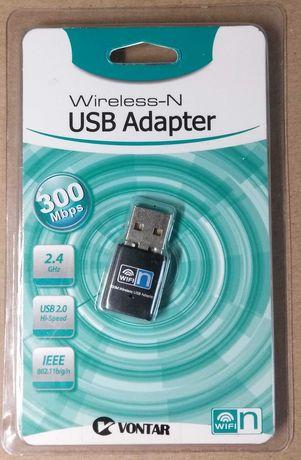 USB Wifi адаптер 300mbps 2,4G 802.11 b/g/n