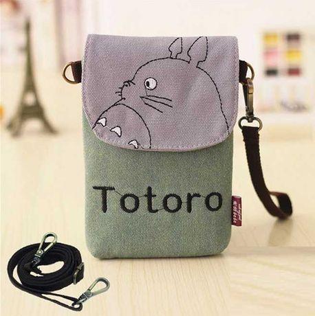 Мини сумочка через плечо с принтом Totoro детская Сумка для телефона