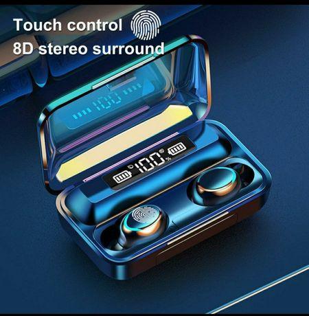 Стерео навушники 5D TWS Bluetooth 5,0 бездротові
