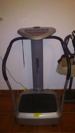 Máquina Vibratória - Massagem - Power Health Crazy Fit