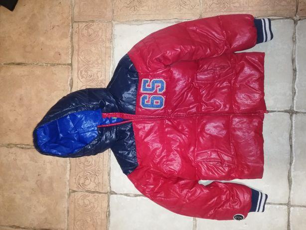 Куртка мальчику пух/перо Benetton 11-12 лет