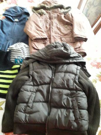 Ubrania dla chłopca.