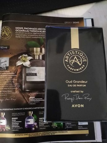 Avon.perfum ARTISTIQUE Oud Grandeur.50ML