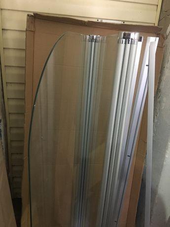 Продам стеклянную шторку для ванны
