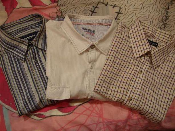 Zestaw 3 x koszula bluzka krótki rękaw USA