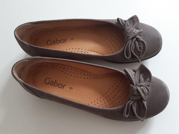 Jak nowe czółenka Gabor baleriny buty półbuty rozmiar 38 angielska 5