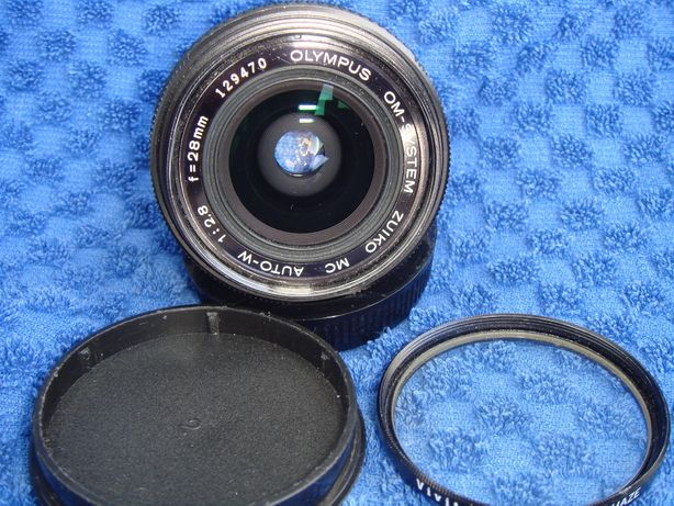 obiektyw OLYMPUS OM-system zuiko MC AUTO-W 28mm / 2,8