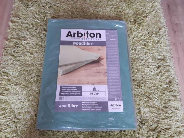 Podkład pod panele 5,5 mm włókna drewniane 12 sztuk Arbiton
